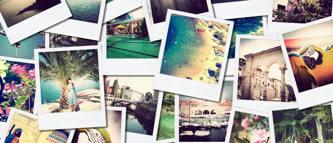 Verschiedene Fotos Urlaub