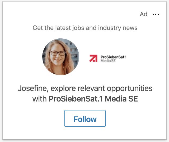 Follower Ads LinkedIn