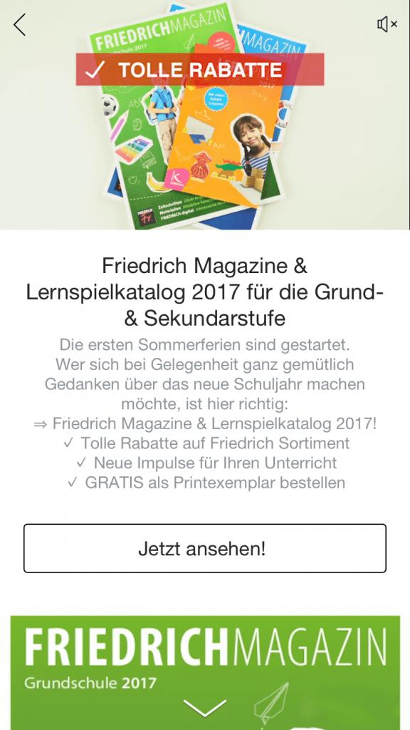 friedrich magazin