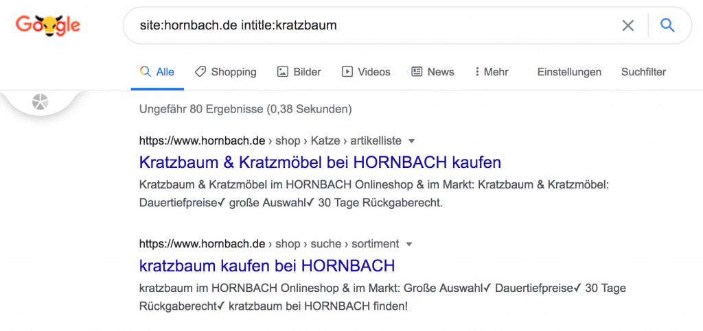 hornbach kratzbaum keyword