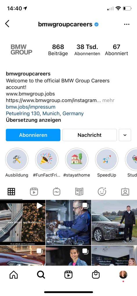 hr marketing auf instagram 2021 highlights
